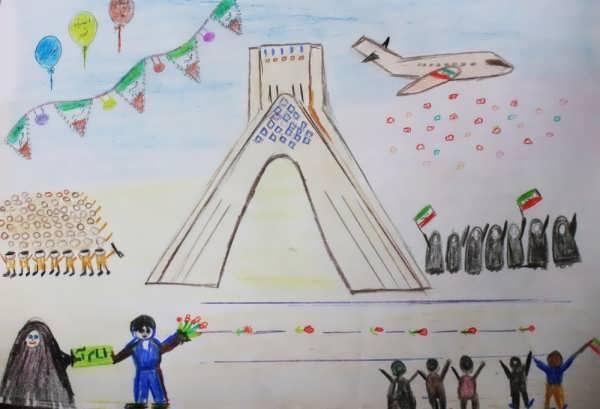 نقاشی دهه فجر