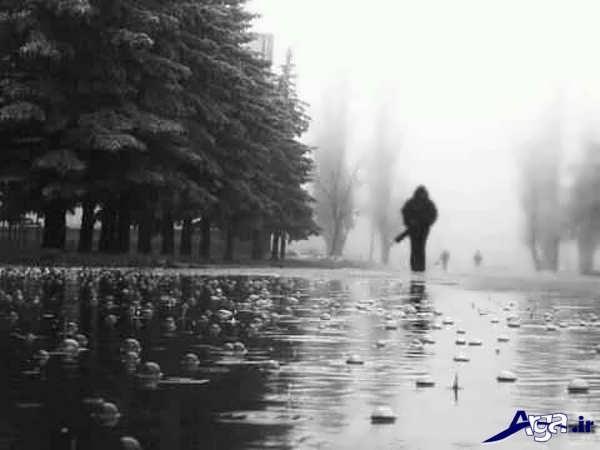 عکس تنهایی مرد