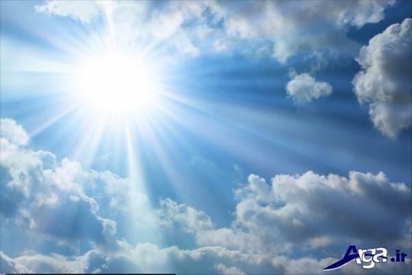 آسمان آفتابی