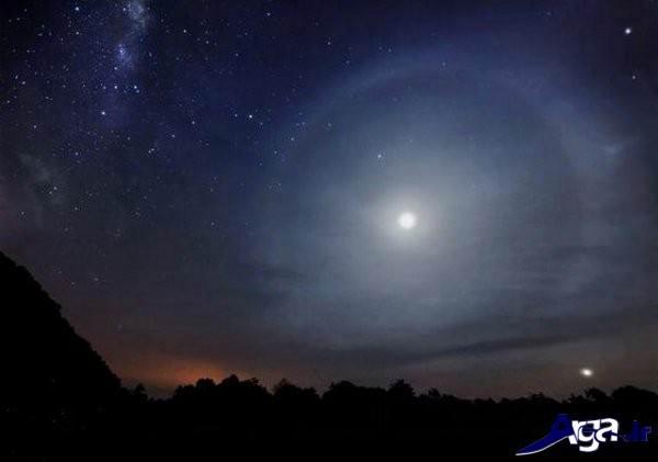 آسمان در شب