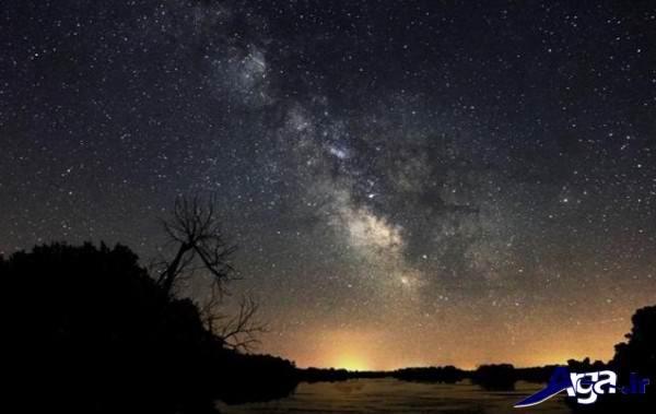 تصاویر آسمان در شب