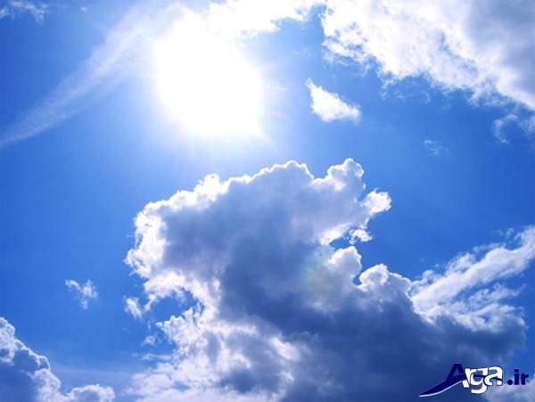 عکس های آسمان ابری