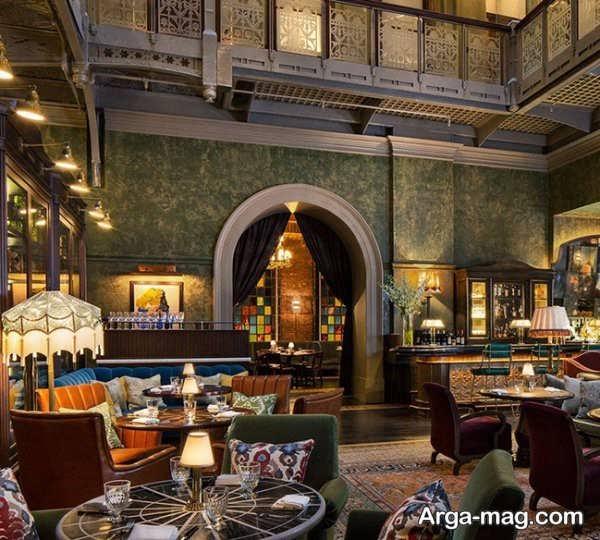 طراحی باشکوه رستوران کلاسیک