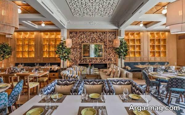 جدیدترین طراحی رستوران کلاسیک