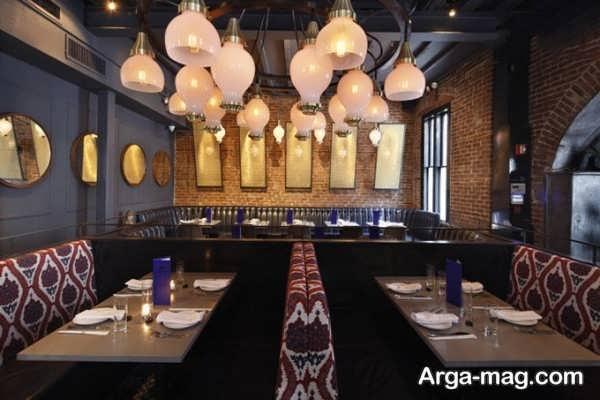 دکوراسیون رستوران با طراحی بی نظیر