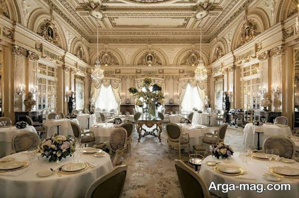 قشنگ ترین طراحی رستوران کلاسیک