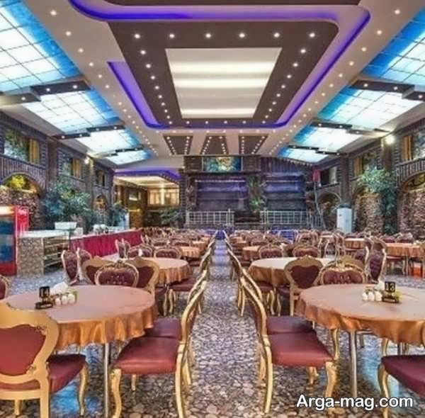 دکوراسیون رستوران با طراحی زیبا