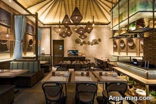 طراحی شیک رستوران کلاسیک