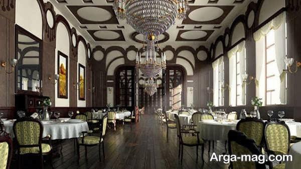 طراحی متفاوت رستوران کلاسیک