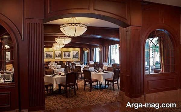 طراحی دیدنی رستوران کلاسیک