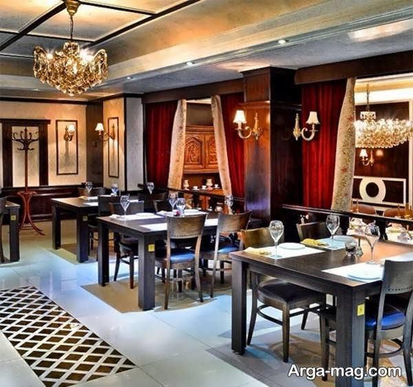 دکوراسیون رستوران با طراحی خاص