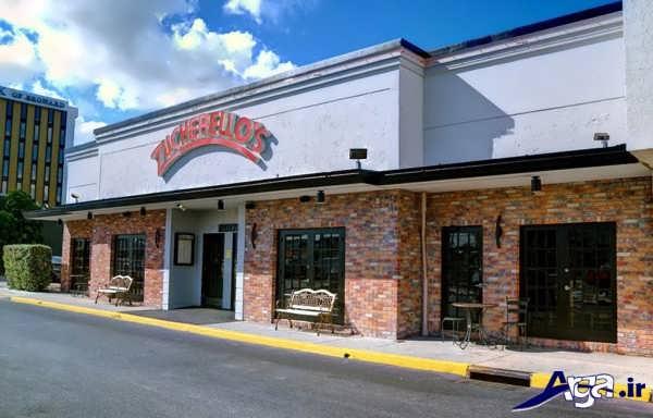 دکور رستوران زیبا و جدید