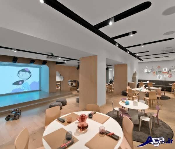 دکوراسیون مدرن و جدید رستوران