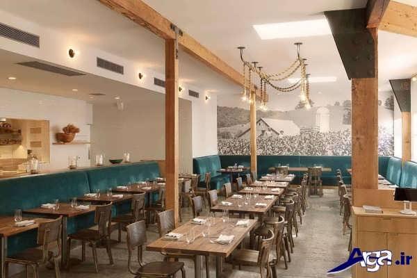 دکوراسیون مدرن رستوران