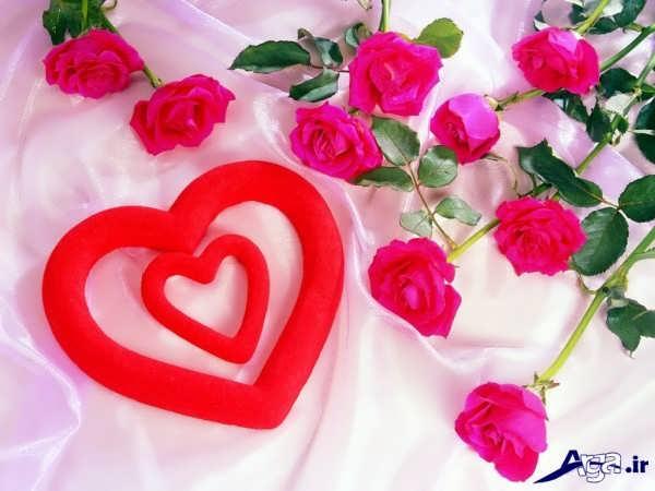 قلب عاشقانه و زیبا