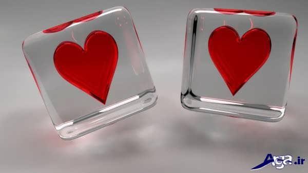 قلب عاشقانه و رمانتیک