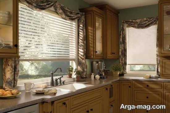 مدل زیبای پرده آشپزخانه