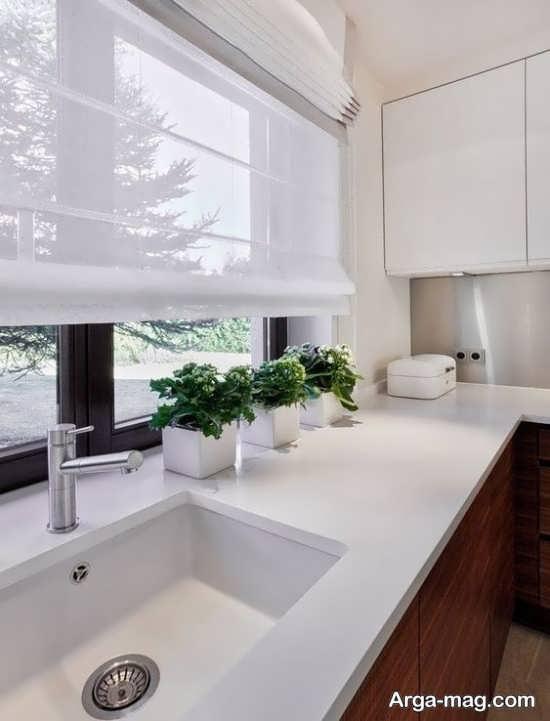 پرده ساده آشپزخانه با مدلهای تماشایی