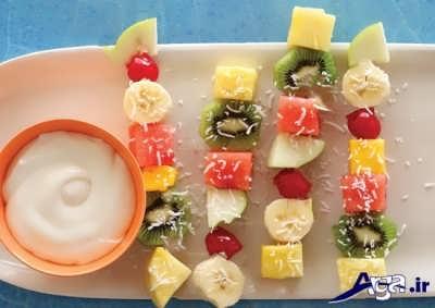 شیر غلیظ شده برای طرز تهیه دسر کاستارد میوه ای