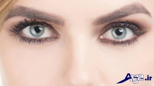 مدل میکاپ چشم دخترانه