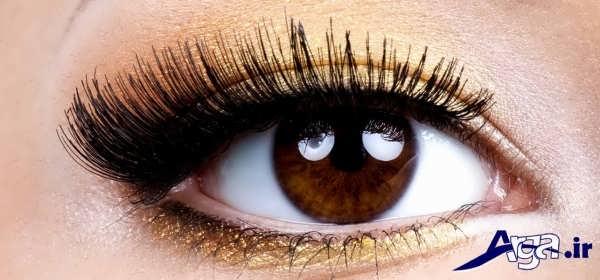 انواع متنوع مدل های آرایش چشم