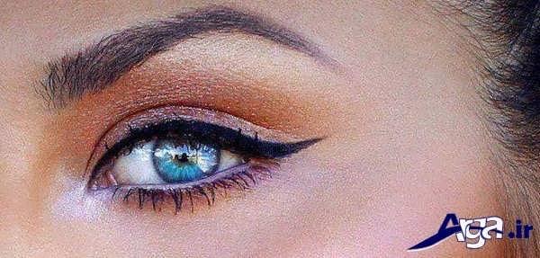 مدل های آرایش چشم ساده