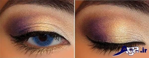مدل سایه چشم برای چشم های رنگی