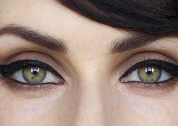 آرایش ساده چشم