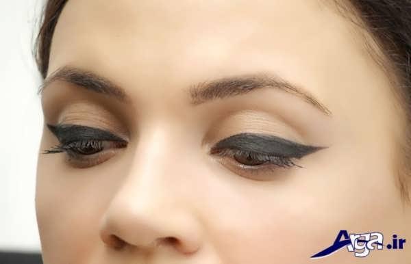 مدل خط چشم برای آرایش ساده چشم