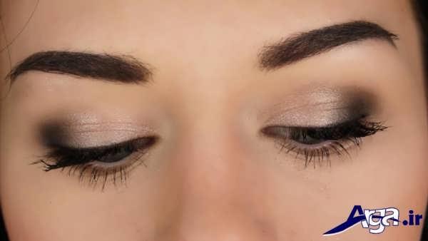 مدل سایه چشم برای آرایش ساده چشم