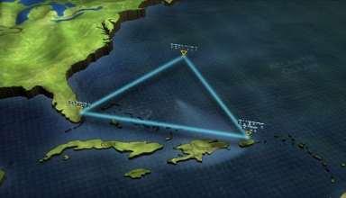 عکس مثلث برمودا