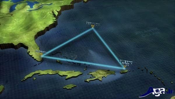 تصاویر مثلث برمودا