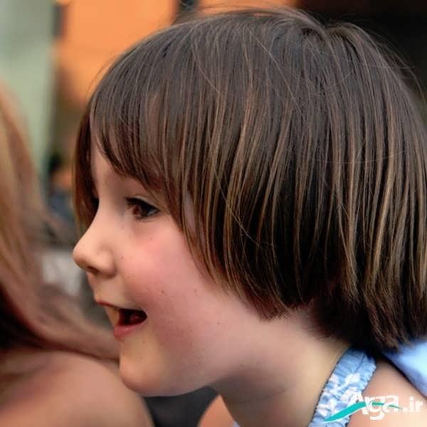 مدل موی ساده بچه گانه