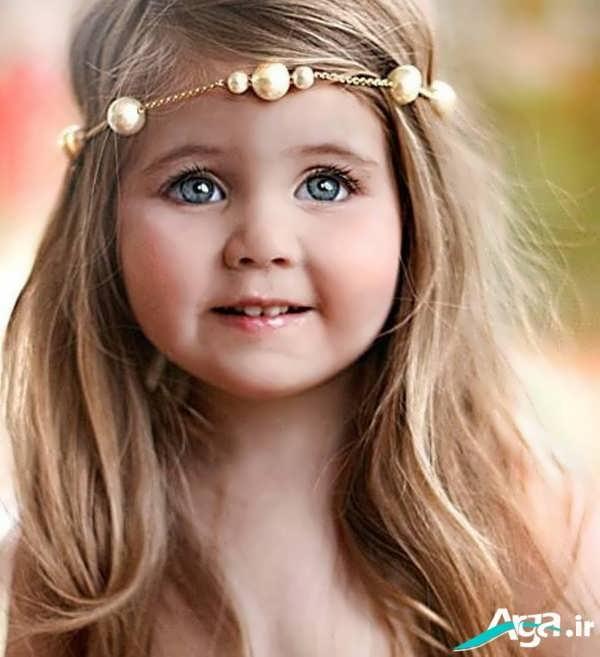 انواع مدل های متنوع موی دختر بچه
