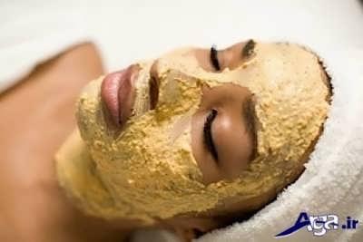 رفع بیماری هایی نظیر جوش و آکنه با ماسک زردچوبه