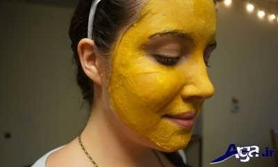 انواع ماسک طبیعی زردچوبه