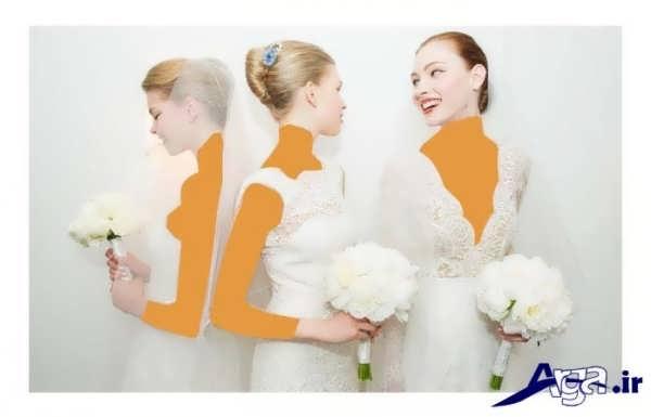 مدل های بسته موی عروس