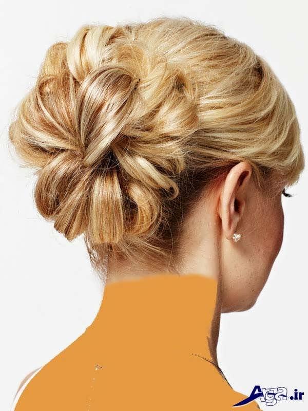 انواع مدل های شینیون موی بسته