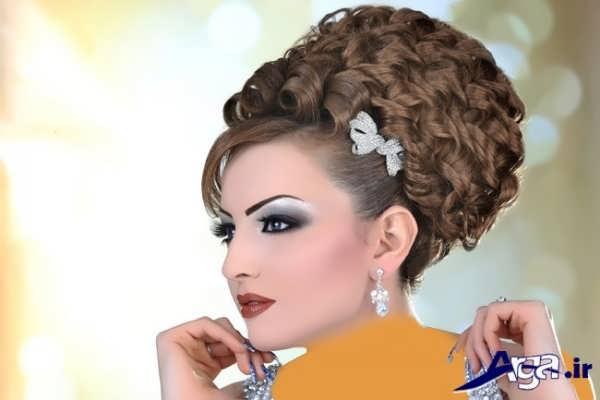 مدل موی عروس با طرحی فوق العاده و جذاب