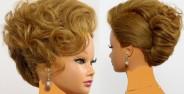 مدل موی بسته مجلسی