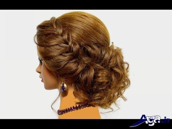 مدل موی بسته مجلسی شیک و زیبا
