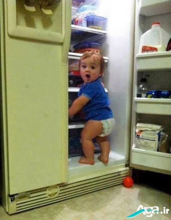 عکس از کودک شیطون