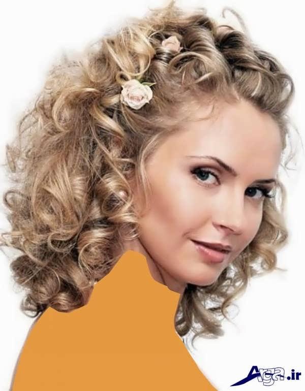 مدل موی فر باز به همراه میکاپ نامزدی