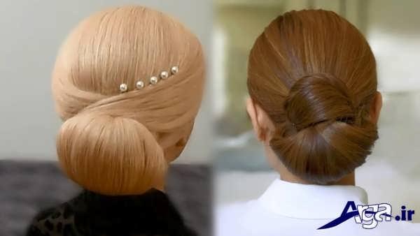 مدل موی نامزدی شیک و ساده