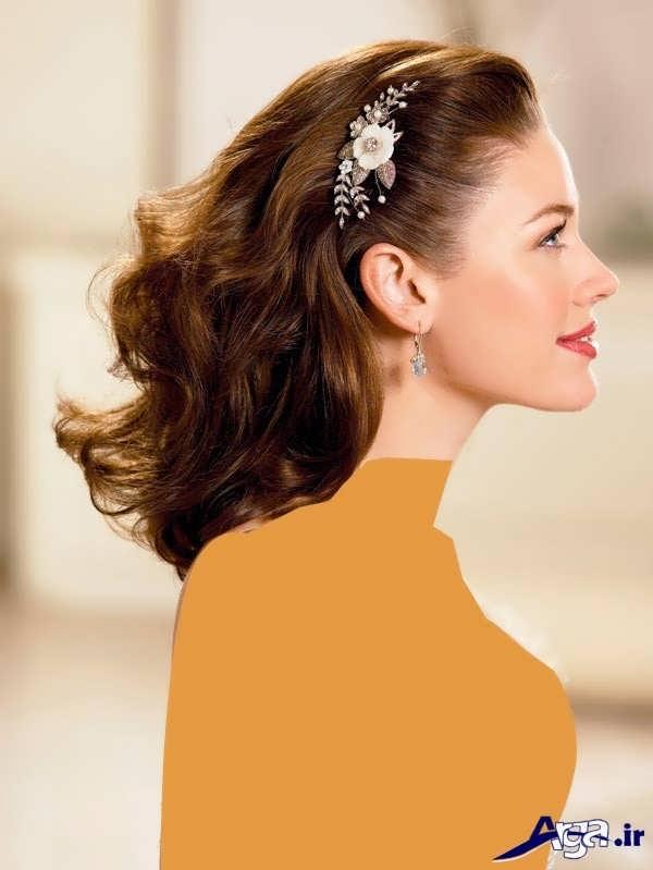 مدل موی باز برای مراسم نامزدی