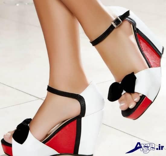 مدل متفاوت کفش پاشنه دار