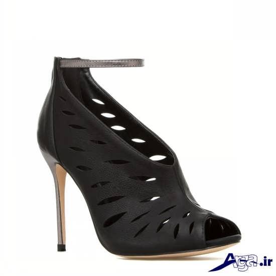 مدل کفش مشکی زنانه با طرحی متفاوت