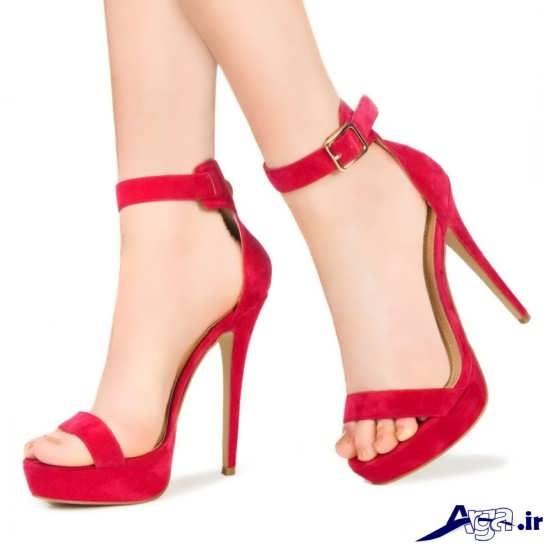 مدل کفش مجلسی قرمز