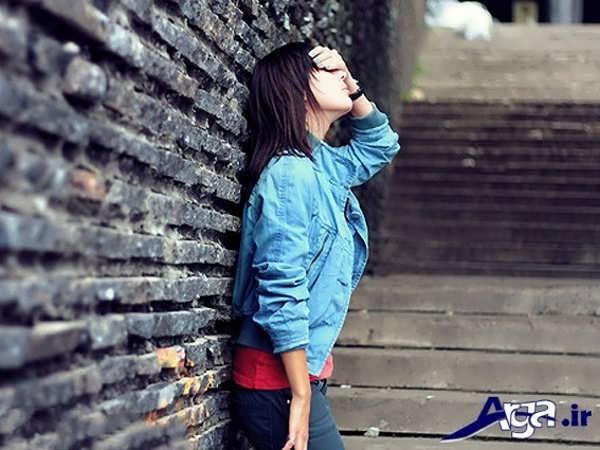 عکس زیبای دختر تنها
