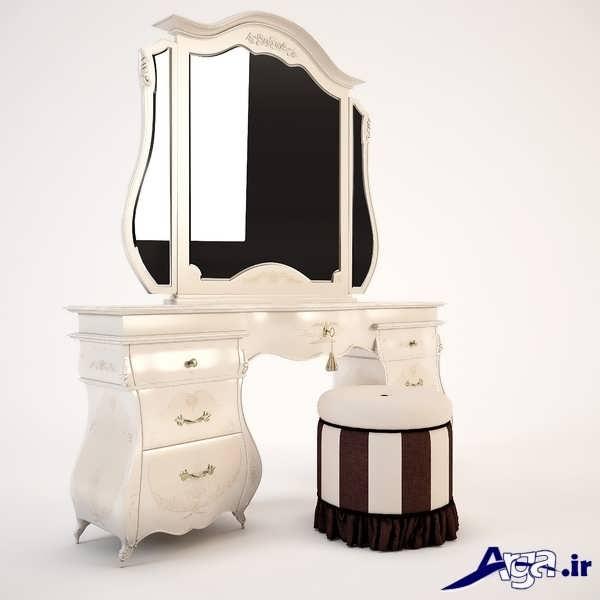 مدل میز آرایش سفد زیبا